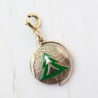 Limited Edition 1979 Sarah Coventry Christmas Tree Charm