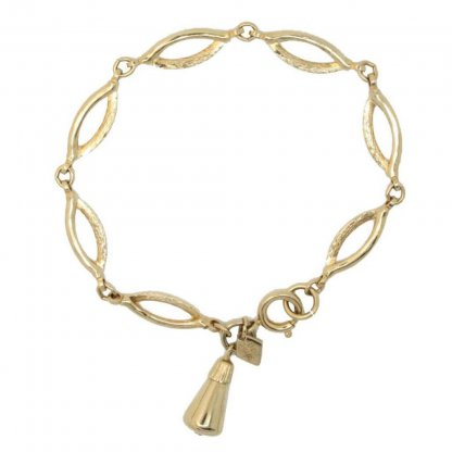 Sarah Coventry 1960s Delightful Gold Plated Bracelet