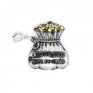 Sarah Coventry Awards 1961 Vintage Money Bag Charm