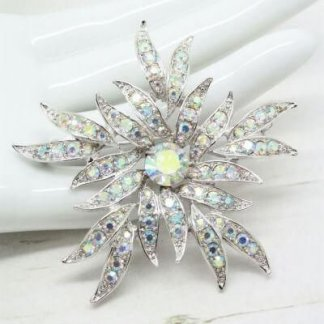 Sarah Coventry Bridal Jewellery Aurora Blaze Brooch