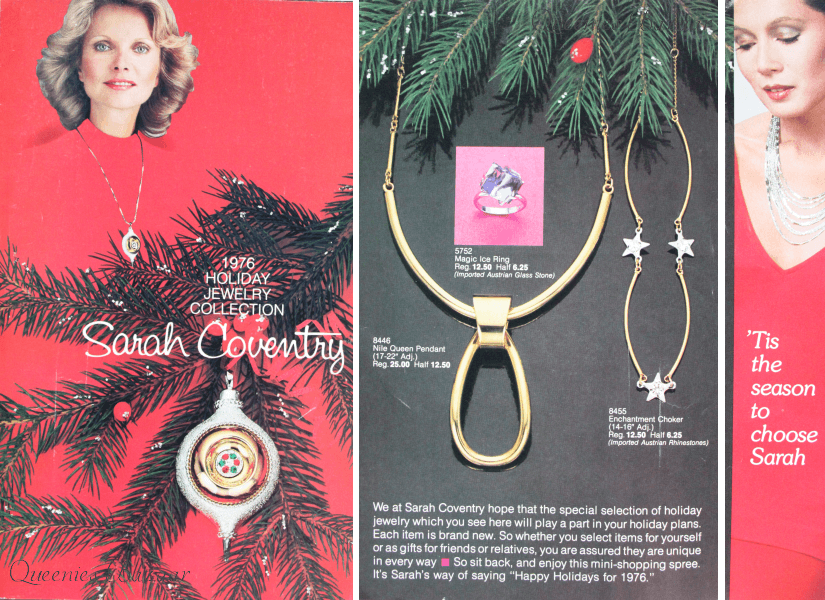 Sarah Coventry 1976 Holiday Jewellery Collection Catalog