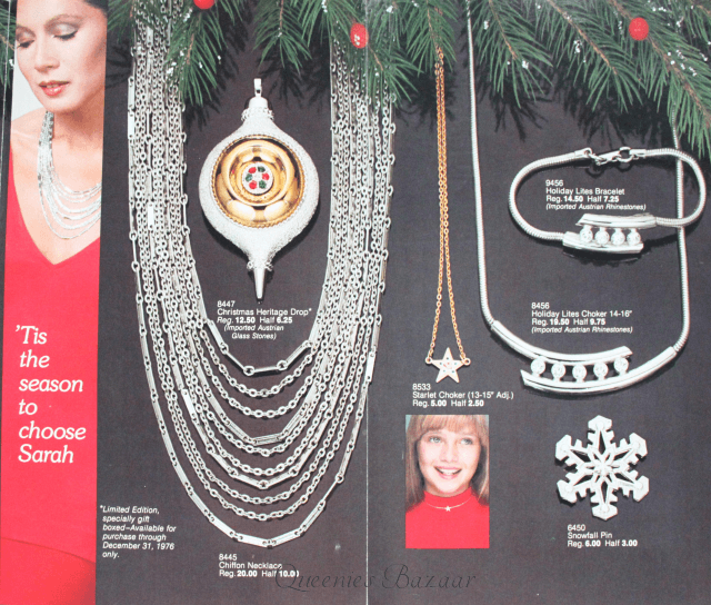 Sarah Coventry Christmas Jewellery