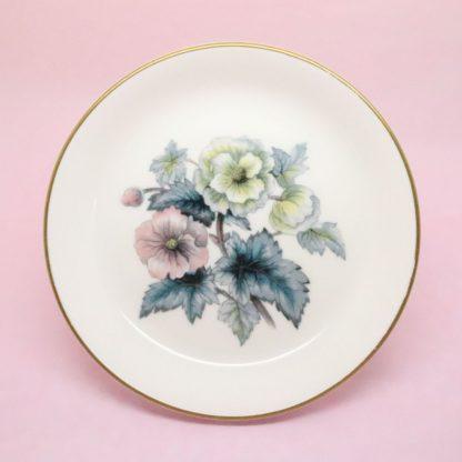 Royal Worcester Large Floral Trinket Dish