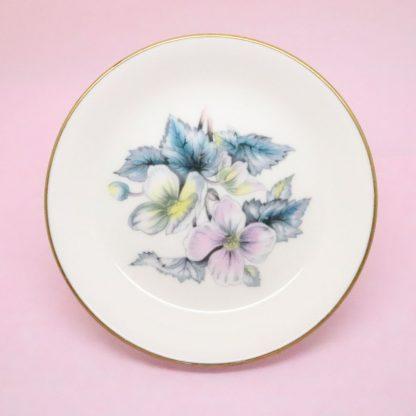 Royal Worcester Anemones Trinket Dish