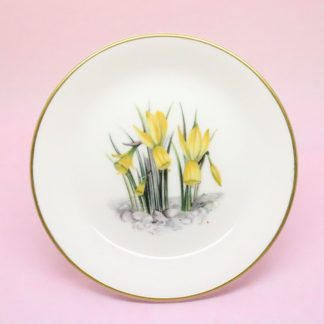 Royal Worcester Daffodil Trinket Dish