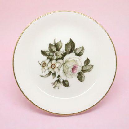 Royal Worcester White Rose Trinket Dish