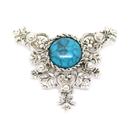 1970s Sarah Coventry Ornate Heritage Brooch Pin