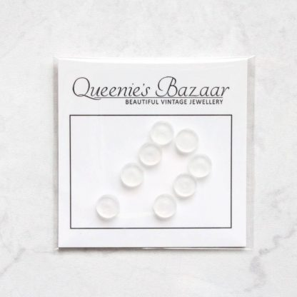 Stop The Pinch – Screw Back Clip On Earrings Cushion Pad Backs