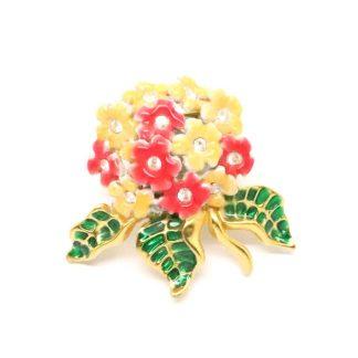 Vintage Joan Rivers Blossom Bouquet Brooch