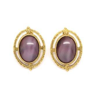 Vintage 1928 Jewelry Co. Cabochon Earrings